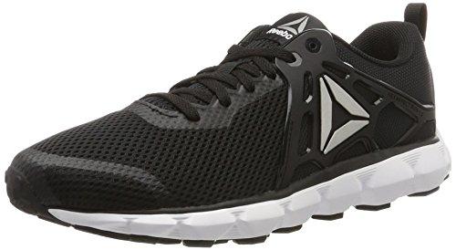 Reebok Hexaffect Run 5.0, Chaussures de Running Homme Noir (Black/white/pewter)