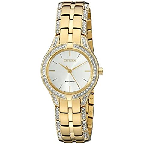 Citizen Eco-Drive Silhouette Gold FE2062-58A - Citizen Eco Drive Silhouette