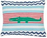 Fussenegger - Kissenhülle - Kissenbezug - JUWEL - Krokodil - Jade - 40 x 30 cm