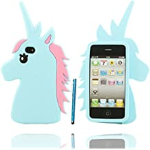 custodia iphone 4 unicorno