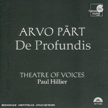 Arvo Pärt : De Profundis [Import anglais]
