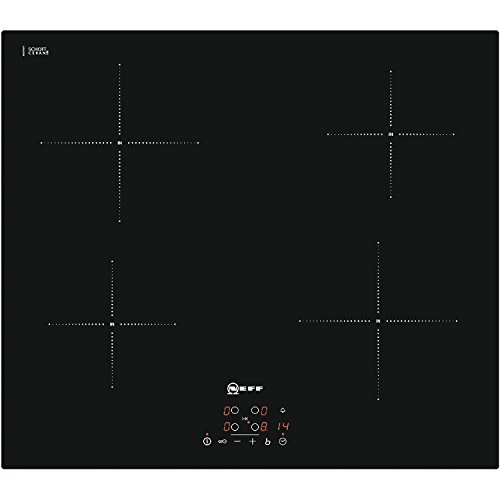 Neff T40B31 X 2GB Integrated with – Plate (Built-in, with Induction Plate, Glass and Ceramic, Black, LED, Touch)