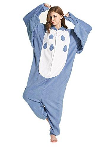 Dreamskull Schlafanzug Hausanzug Cartoon Cosplay KostümPyjama Jumpsuit Overall Einteiler Einhorn Tiere Winter Fleece Damen Mädchen Erwachsene Unisex Lang (M, (Einhorn Kostüm Asiatische)