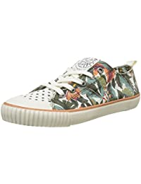 Pepe Jeans London Industry Low Mix, Zapatillas para Mujer