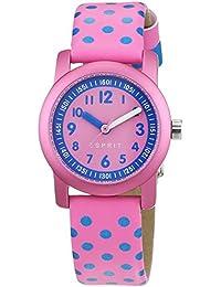 Esprit Mädchen-Armbanduhr Analog Quarz Leder ES000FA4036