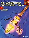 El Método De Jazz Para Guitarra 2-Arreglados para guitarra-con CD [de la fragancia/Alemán] Compositor: Neumann Werner