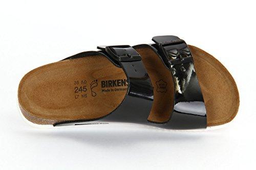 Birkenstock Sandale Arizona SL Birko-Flor normal Unisex Schwarz