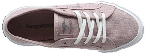 KangaROOS Voyage, Baskets Basses Femme Rose - Pink (rose 640)