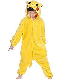 Wealsex Pijamas Unisexo Niños Traje Disfraz Animal Adulto Animal Pyjamas Cosplay
