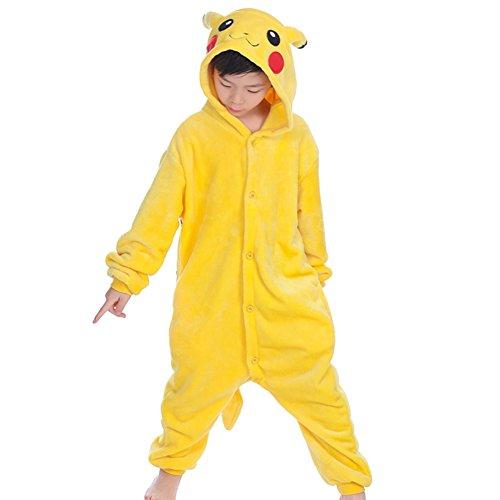 mauea Animaux Pyjama Ensemble Enfants Unisexe Combinaison Cosplay Déguisements Chaud Costume...