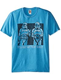 T-shirt Star Wars You Get My Text Bro? Junk Food Clothing - Taille S