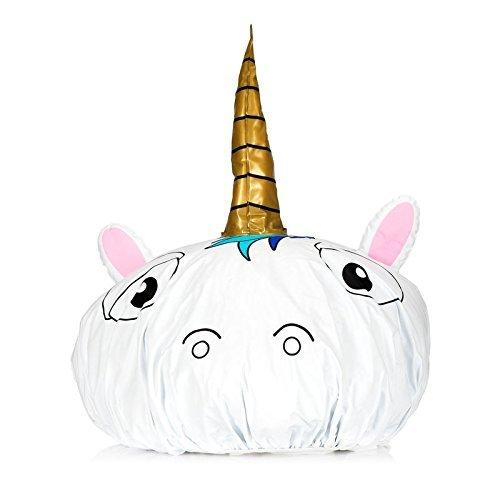 Cuffia da docciada unicorno –Cuffia da bagno, protezione per i capelli con decoro di fantasia