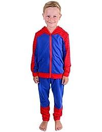 Chándal niños Spider Man, Spider Suit–Chándal niños Spider Man, Spider Man Pantalones de Forro Polar Lounge–Varios tamaños 3A 8años