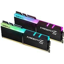G.Skill Trident Z RGB F4-3600C19D-16GTZRB módulo de - Memoria (16 GB, 2 x 8 GB, DDR4, 3600 MHz, UDIMM)