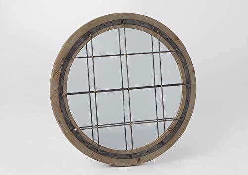 Miroir rond, collection Edgard, diamètre 80 cm, Amadeus