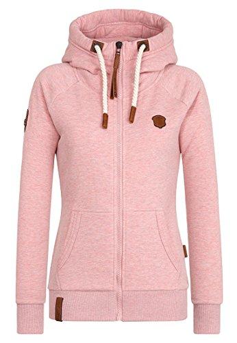 Naketano Female Zipped Jacket Brazzo Schmutzmuschi Pink Melange, L
