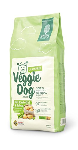 Green Petfood VeggieDog grainfree, 1er Pack (1 x 15 kg)