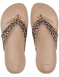 crocs Women's Flip-Flops and House Slippers