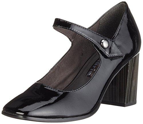 Tamaris 22463, Scarpe con Tacco Donna, Nero (Black Patent 018), 37 EU