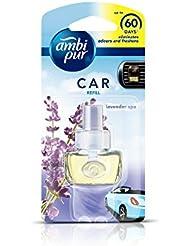 Ambi Pur 82209457 Lavender Spa Car Air Freshener Refill (7.5 ml)