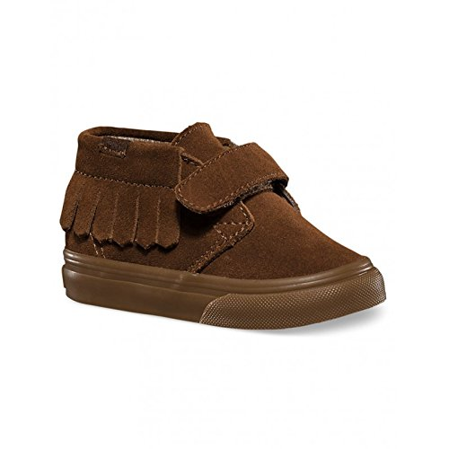 f94c6066edab7 Chaussures Vans T Chukka V Moc - Suede Bison-Marron