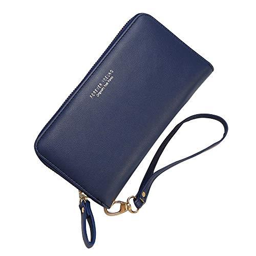 Porte Monnaie Femmes Pas Cher - OSYARD - Portefeuille Femme Petit de Crédit Transport Sac à Main avec Zipper Fermeture écla