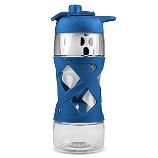 Aquasana AQ-PB-BLUE Aquasana Filter Water Bottle