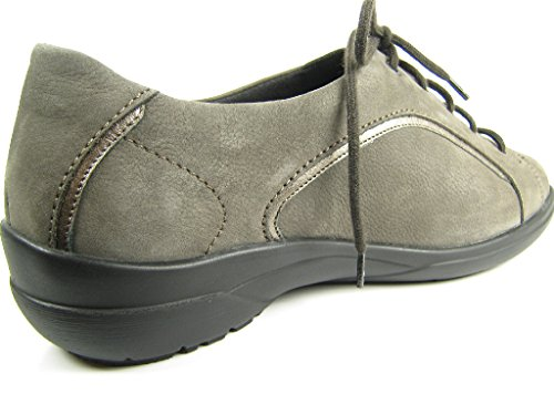 Solidus 4101920064, Scarpe stringate donna Grigio (grigio)