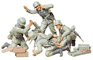 Tamiya - 35193 - Maquette - Mortier Allemands et Servants - Echelle 1:35