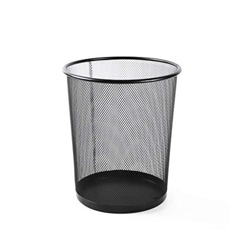 ATR Papierkörbe für Altpapier 16 Liter Papierkorb für Altpapier Recycling Metallgitter Mülleimerfass Mülleimerkörbe aus Edelstahl