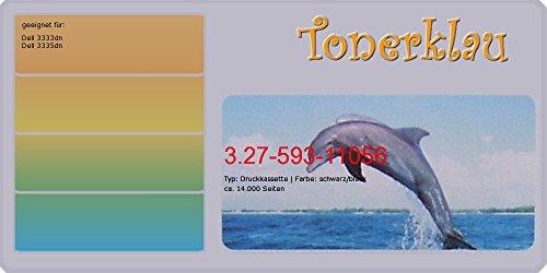 kompatibel Druckkassette/Tonerkassette 3.27-593-11056 für: Dell 3335dn als Ersatz für Dell 593-11056 / G7D0Y - 14 Druckkassette Schwarz