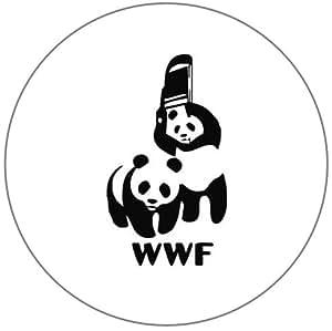 Catch WWF Panda 25mm Bouton Badge à épingle