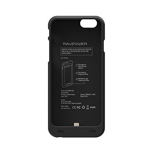 custodia iphone 6 batteria 5000