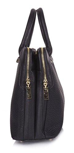 maniglia superiore tracolla vano Handbag designer Shop BH506 a Big donne doppio borsa Beige w1CqSY0