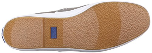 Keds Champion Text-Graphite, Baskets Basses Femme Gris (Grey)