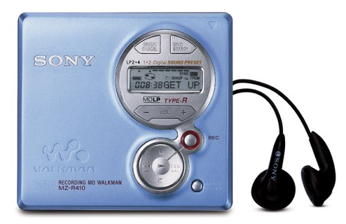 Sony MZ-R410 Blue MiniDisc Walkman