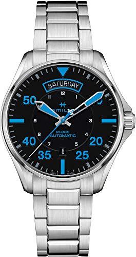 Hamilton Khaki Pilot Auto Air Zermatt Special Edition h64625131automático para hombre reloj