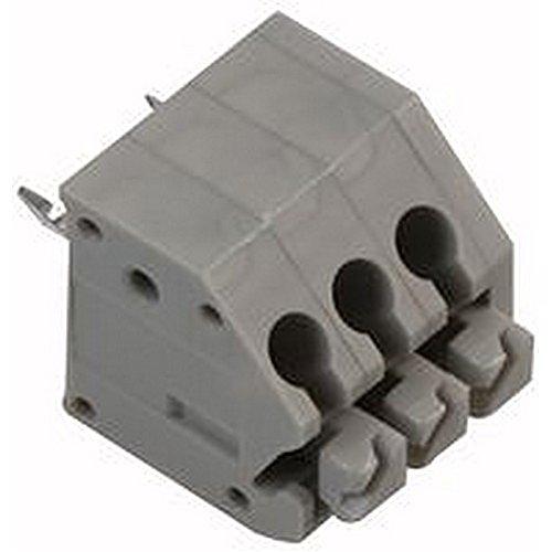Preisvergleich Produktbild PCB terminalscrewless 3,5 mm 3-Wege-Stecker Terminal Blocks,  Terminal,  schraubenlos,  3,5 mm,  3-fach,  Anzahl der Kontakte: 3