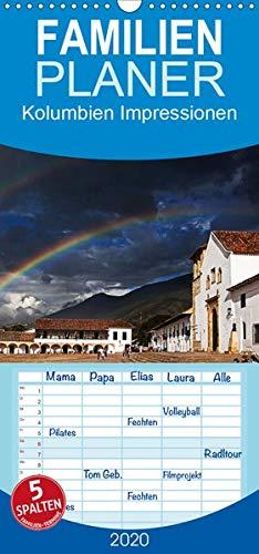 Kolumbien Impressionen - Familienplaner hoch (Wandkalender 2020 , 21 cm x 45 cm, hoch): Die Highlights Kolumbiens in beeindruckenden Bildern. (Monatskalender, 14 Seiten ) (CALVENDO Orte)