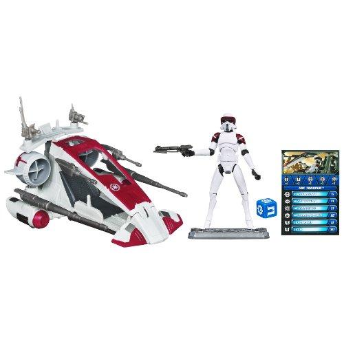 Star WarsThe Clone Wars Republic Scout Speeder with Arf Trooper 28633