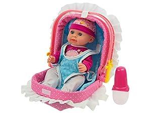 TEOREMA 66265 - Muñeca con Voz, Bebe y Hada Pipì, con Porta bebé 3 Funciones