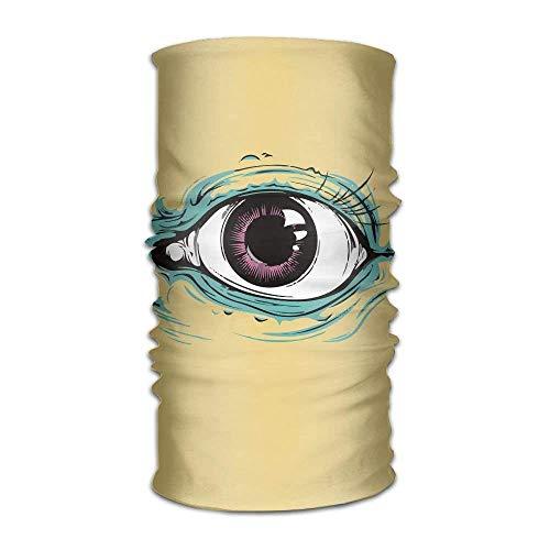 KENTONG Hill Magic Headwear Eye of Gold Outdoor Scarf Headbands Bandana Mask Neck Gaiter Head Wrap Mask Sweatband