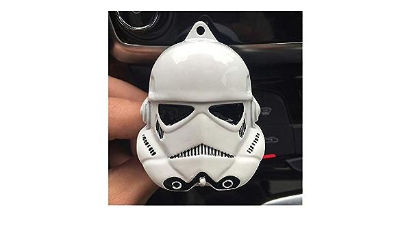 Nobrand Auto Lufterfrischer Clip Klimaanlage Lüftung Parfüm Avengers Marvel Spider Man Star Wars Fan Car Produkte Zubehör Color Name Black Auto