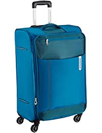 American Tourister Portugal Polyester 69.5 cms Teal Soft Sided Suitcase (AMT Portugal SP 69CM Teal)