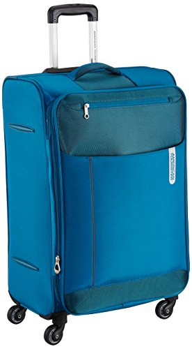 American Tourister Portugal Polyester 69.5 cms Teal Soft Sided Suitcase (AMT Portugal...