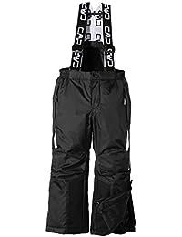 CMP Skihose - Mono de esquí para niño, color negro, talla de: 152