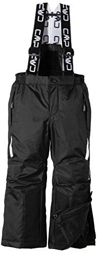 CMP - Pantaloni da sci, da ragazzo, Nero (schwarz), 140