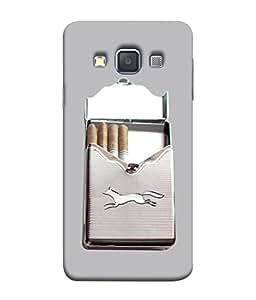 PrintVisa Designer Back Case Cover for Samsung Galaxy A5 (2015) :: Samsung Galaxy A5 Duos (2015) :: Samsung Galaxy A5 A500F A500Fu A500M A500Y A500Yz A500F1/A500K/A500S A500Fq A500F/Ds A500G/Ds A500H/Ds A500M/Ds A5000 (Nickotine Cigarette)