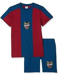 Levante UD Pijlud Pijama Corta, Infantil, Azul (Azulgrana), 10