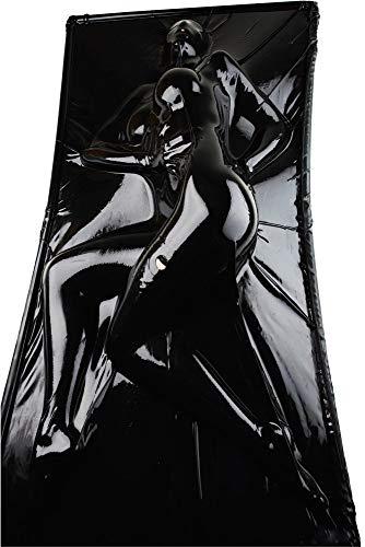 LATE X Bett Vakkum in schwarz